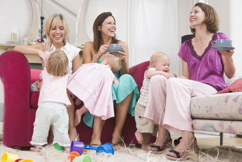 group-of-moms-talking